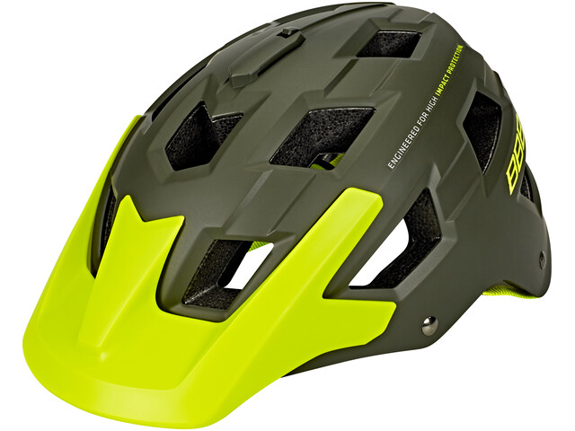 BBB Nanga BHE-54 Helm matt grün/neon gelb